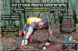 XVI Cross Alpino Cebrereño. 10 km