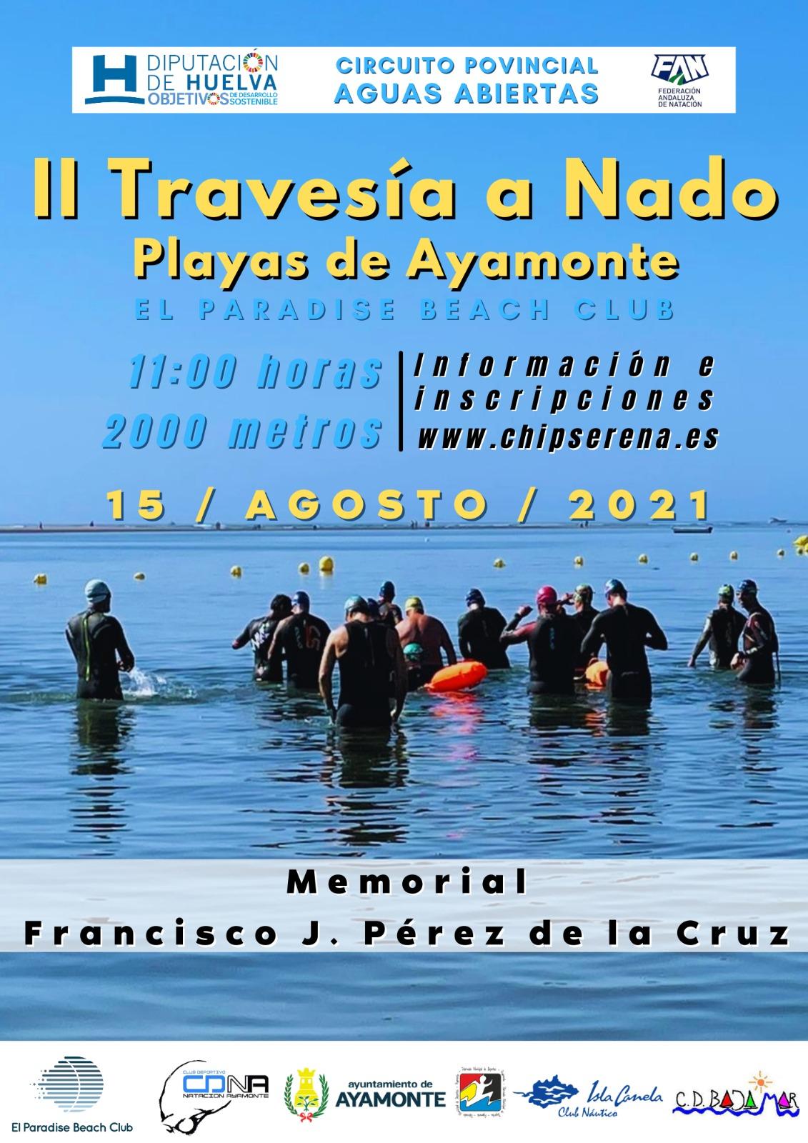 II Travesía a Nado Playas de Ayamonte El Paradise Beach Club