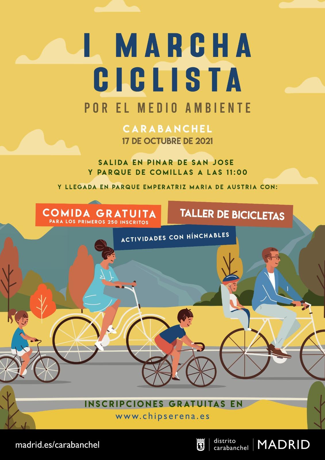 Marcha Ciclista por el Medio Ambiente Carabanchel