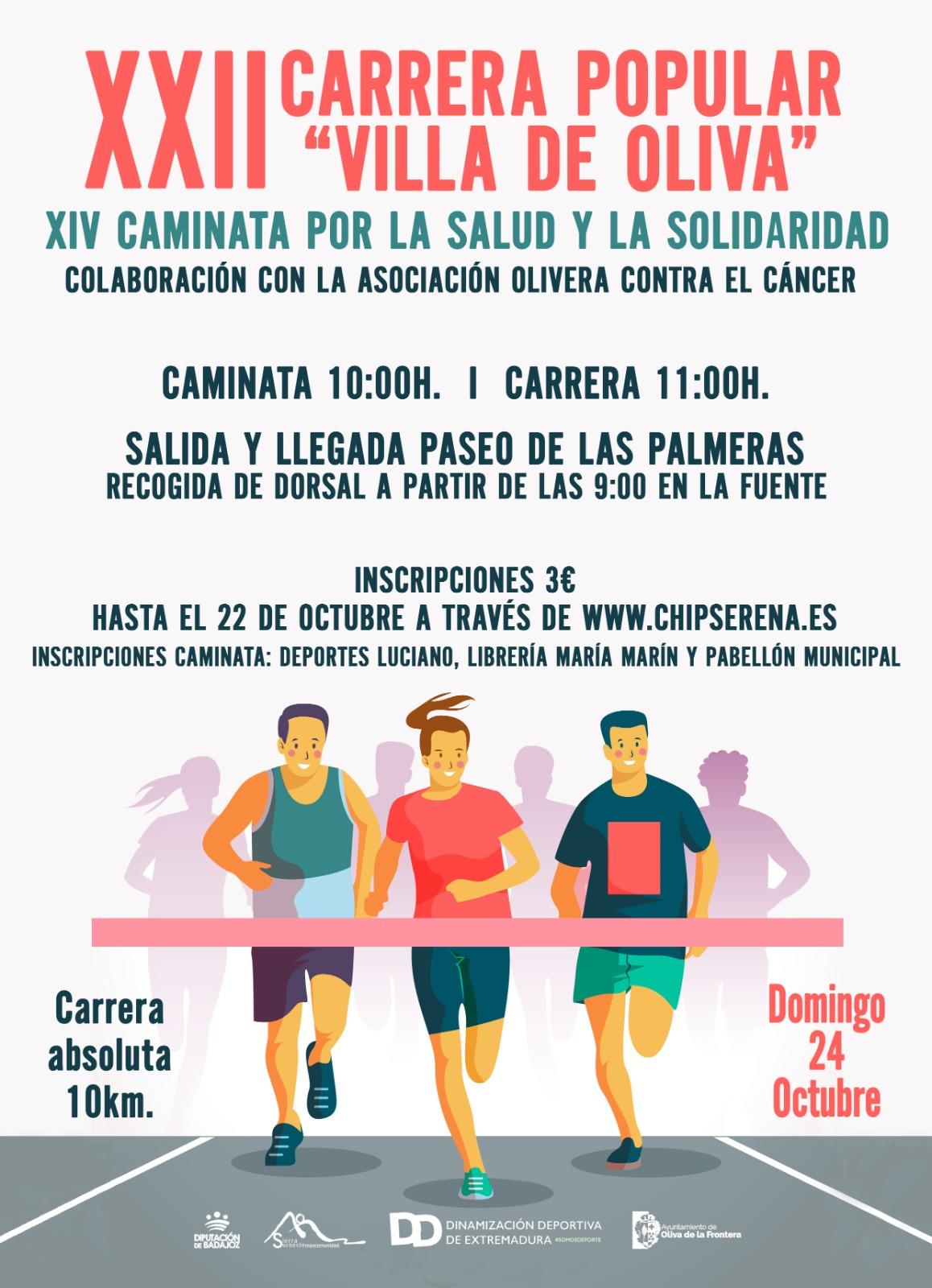 XXII Carrera Popular Villa de Oliva