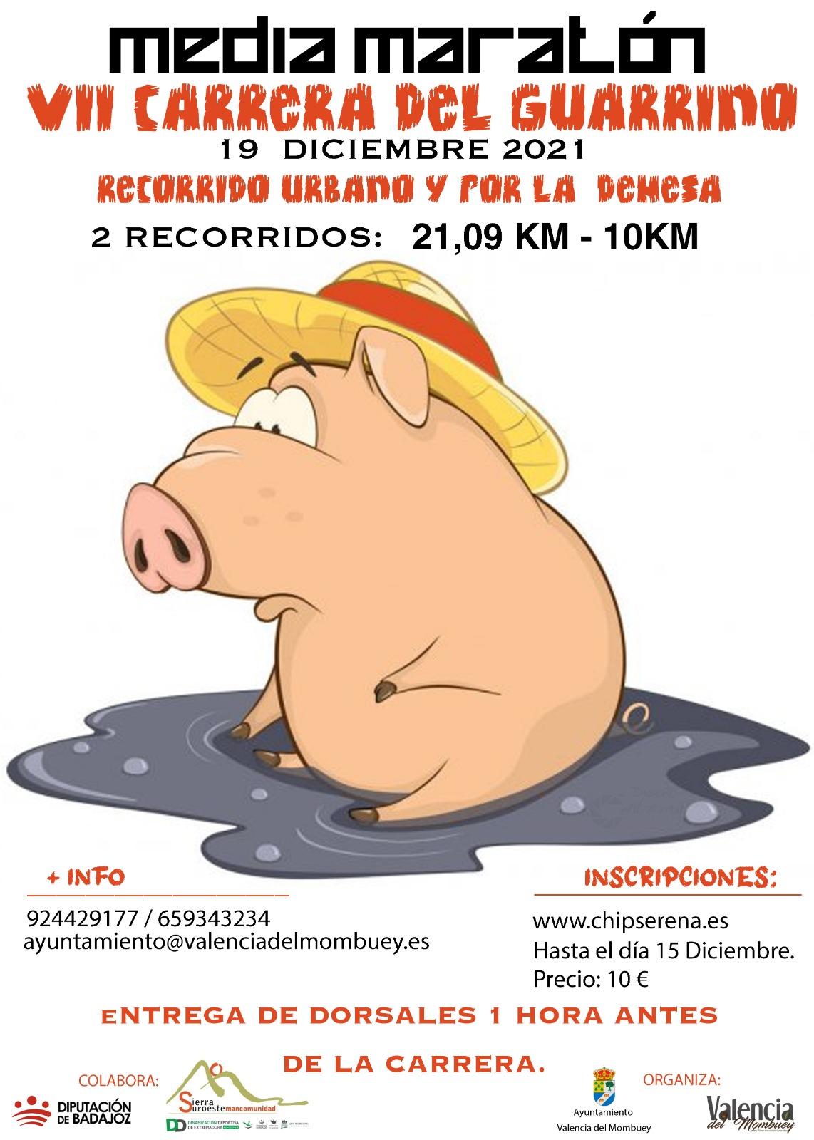 Media Maratón y VII Carrera del Guarrino