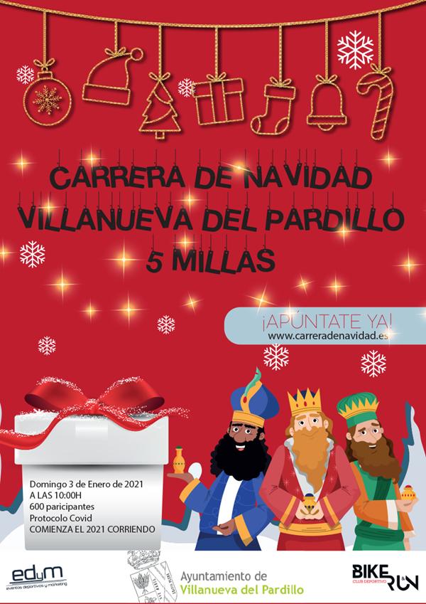 Carrera de Navidad Villanueva del Pardillo