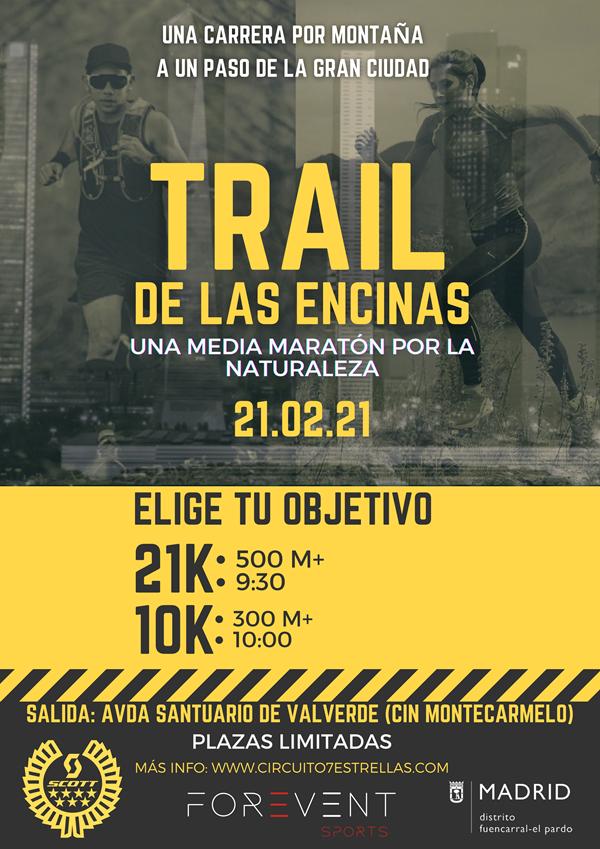 Trail de las Encinas - Circuito 7 Estrellas Trail