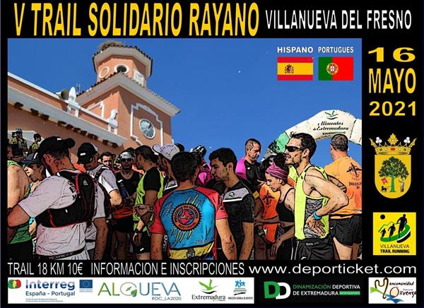 V Trail Solidario Rayano de Villanueva del Fresno