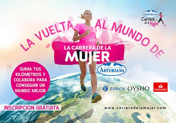La Vuelta al Mundo de la Carrera de la Mujer