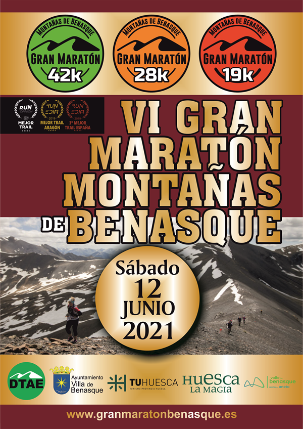 VI Gran Maratón de Montañas de Benasque: 28km