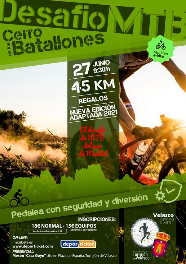 IV Desafío MTB Cerro de los Batallones