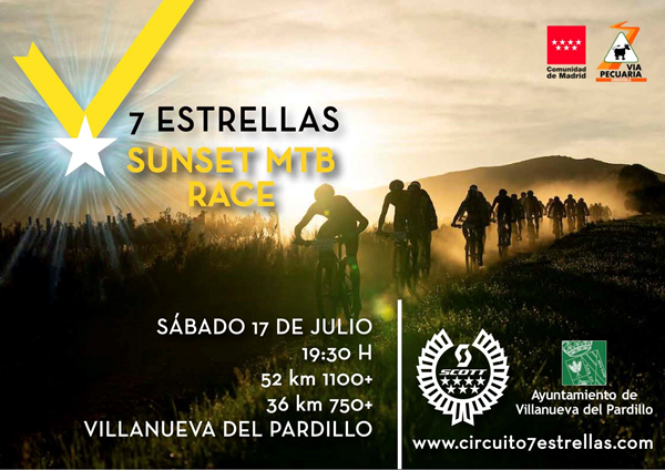 Sunset MTB Race - Scott Spark Experience Tour. Circuito 7 Estrellas MTB