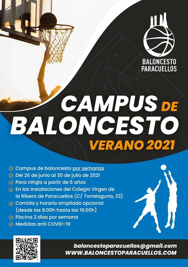 Campus de Baloncesto Verano 2021