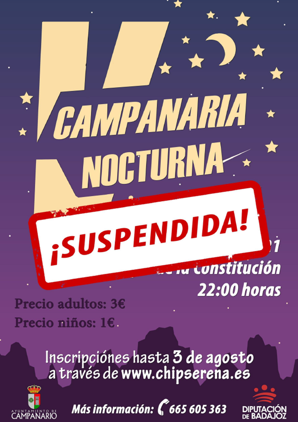 V Campanaria Nocturna