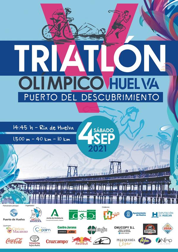 V Triatlón Olímpico Huelva, Puerto del Descubrimiento
