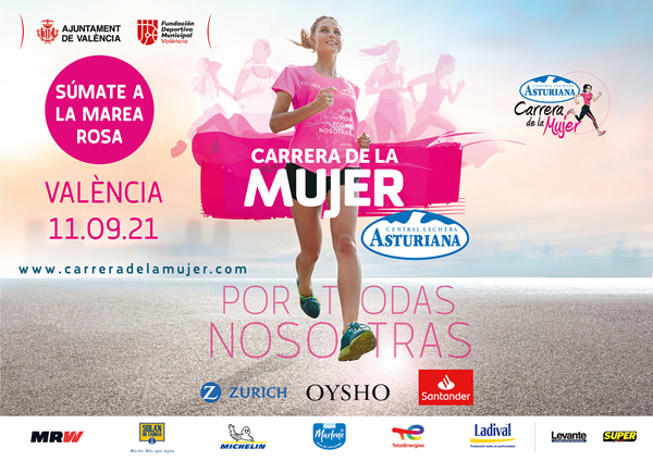 Carrera de la Mujer Central Lechera Asturiana 2021. València