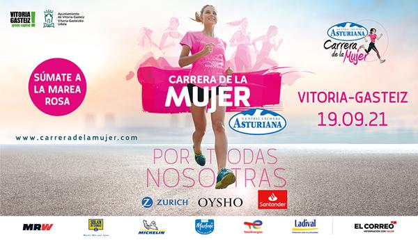 Carrera de la Mujer Central Lechera Asturiana 2021. Vitoria-Gasteiz