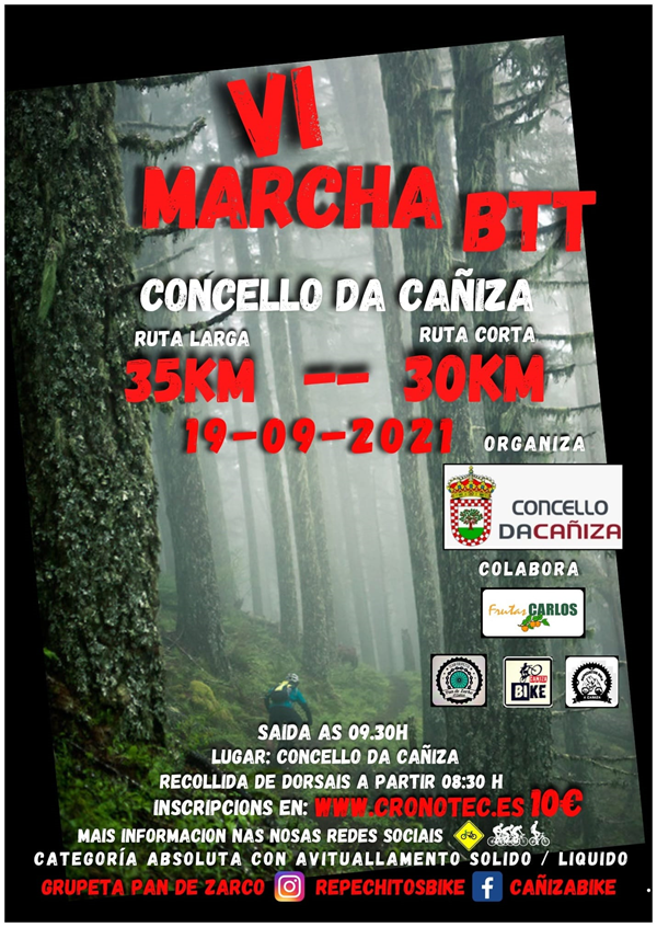 VI Marcha BTT Concello da Cañiza