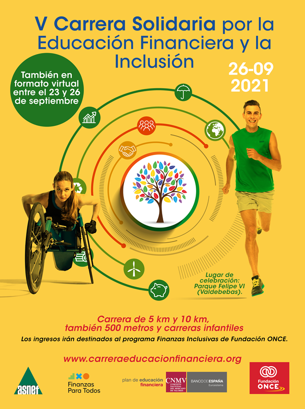 Carrera Solidaria por la Educación Financiera y la Inclusión (VIRTUAL)
