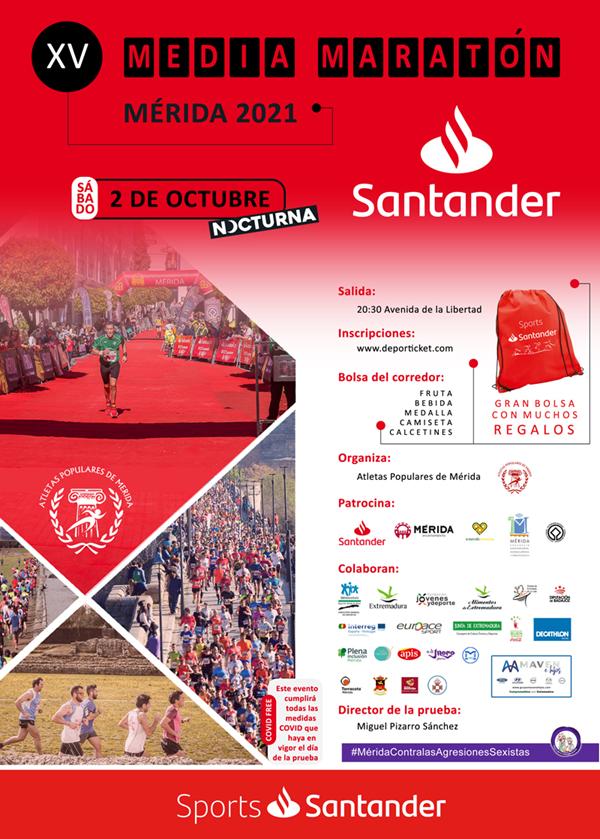 XV Media Maratón Mérida. Patrimonio de la Humanidad