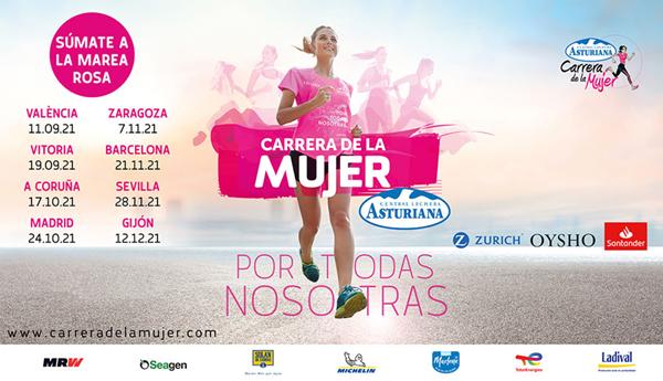 Carrera de la Mujer Central Lechera Asturiana 2021. A Coruña