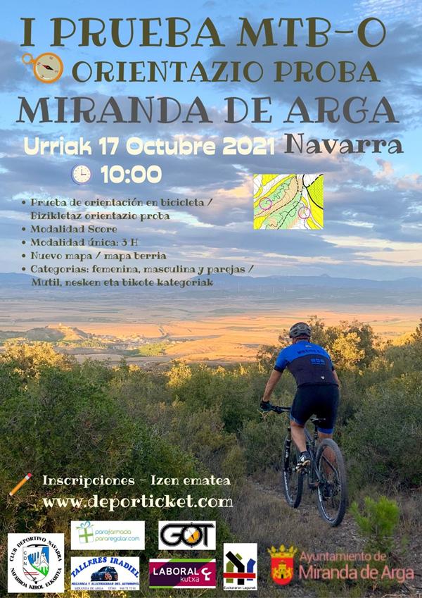 I MTB-O Miranda de Arga