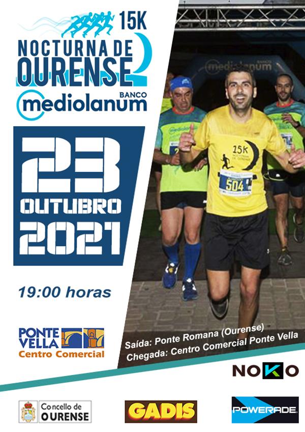 15K Nocturna de Ourense Banco Mediolanum