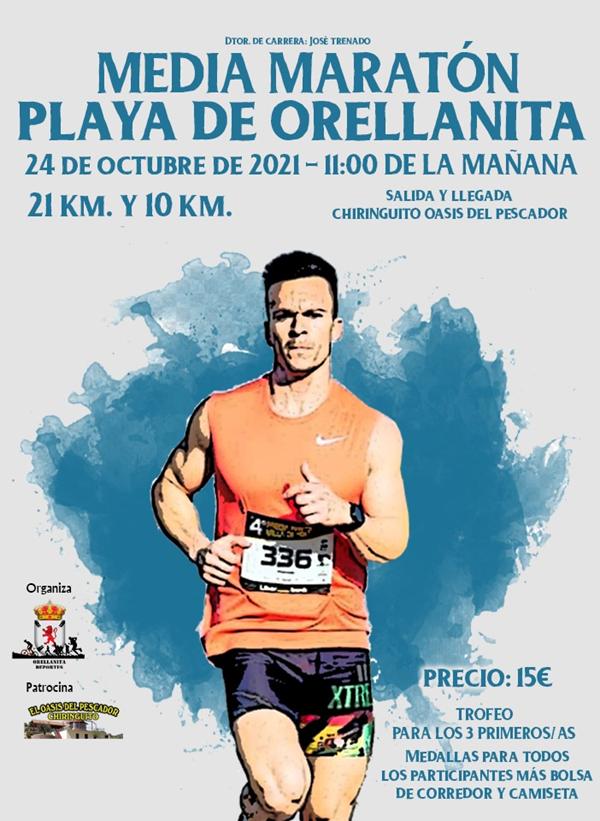 I Media Maratón Playa de Orellanita