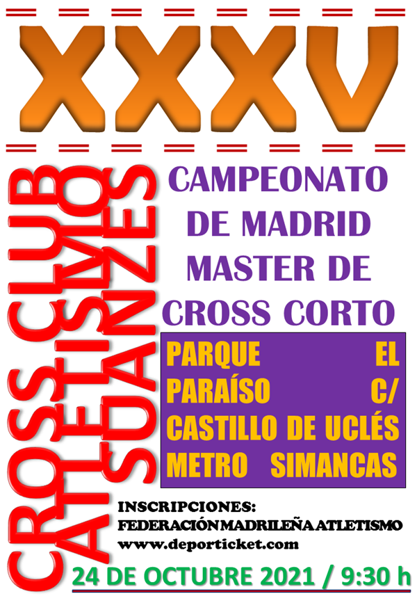 XXXV Cross C.A. Suanzes de San Blas