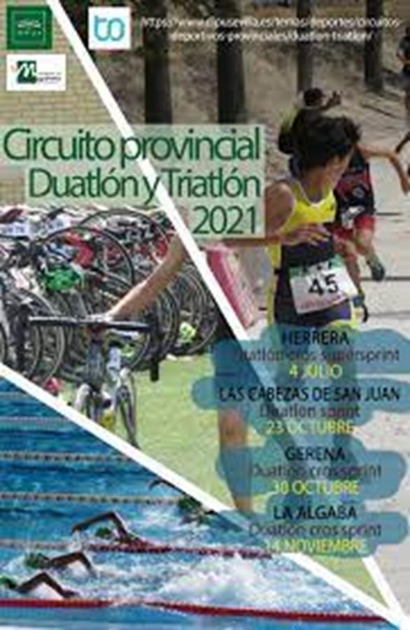 Duatlón Cross Villa de Gerena. IV Circuito Provincial Duatlón-triatlón 2021