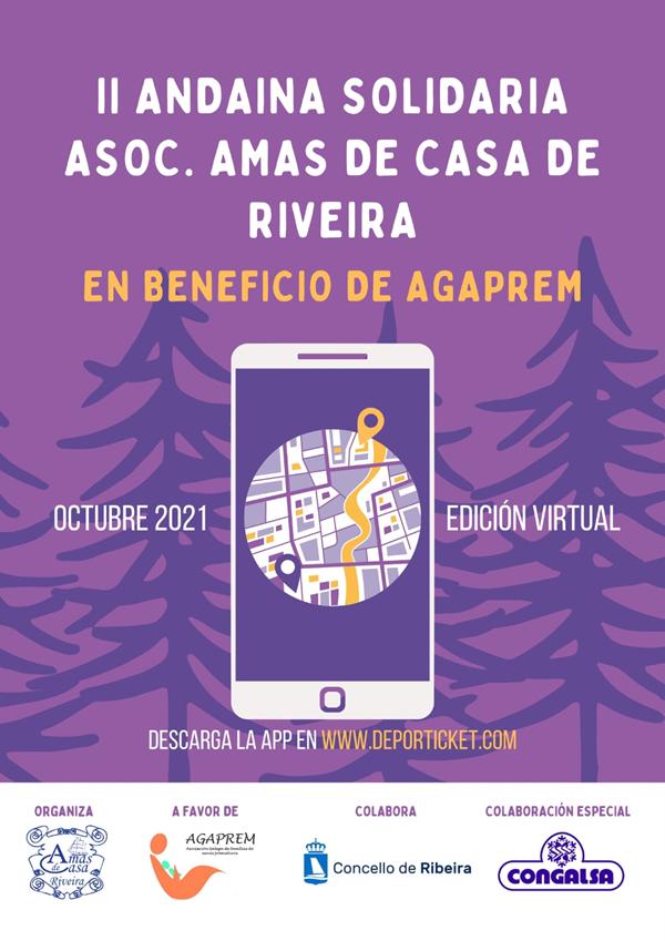 II Andaina Solidaria Asoc. Amas de Casa de Riveira - Edición Virtual