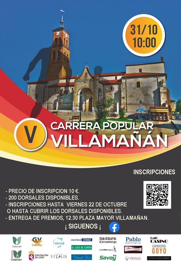 V Carrera Popular de Villamañán