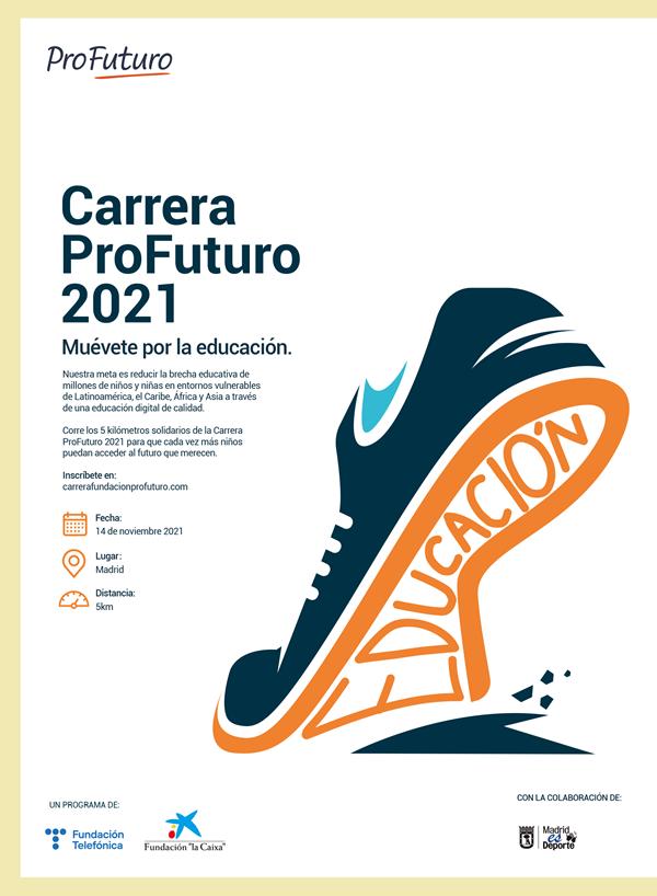 Carrera ProFuturo - 5 Km de Madrid