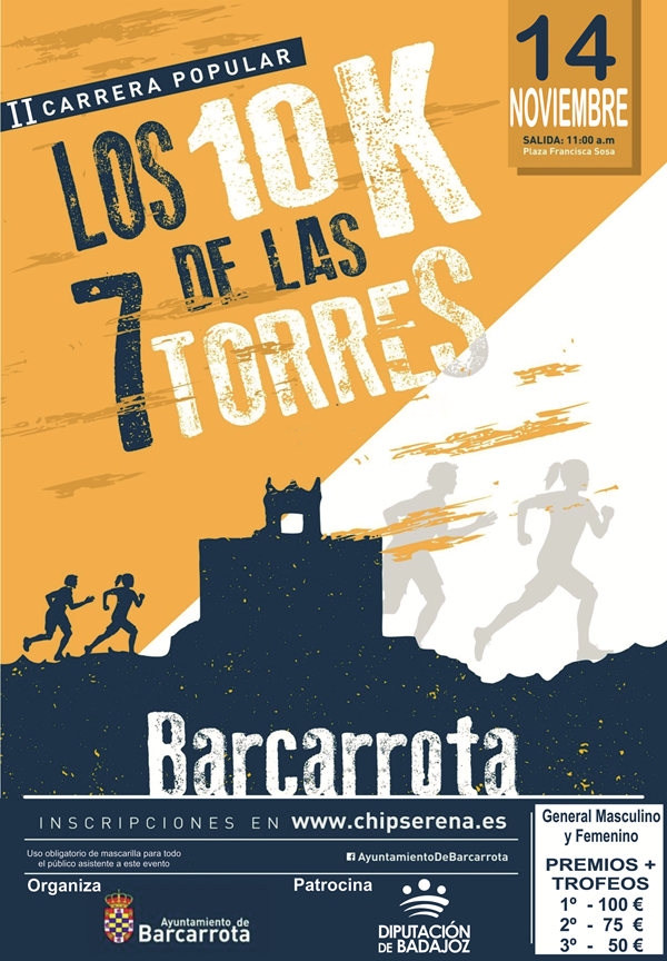 II Carrera Popular Los 10K de las 7 Torres