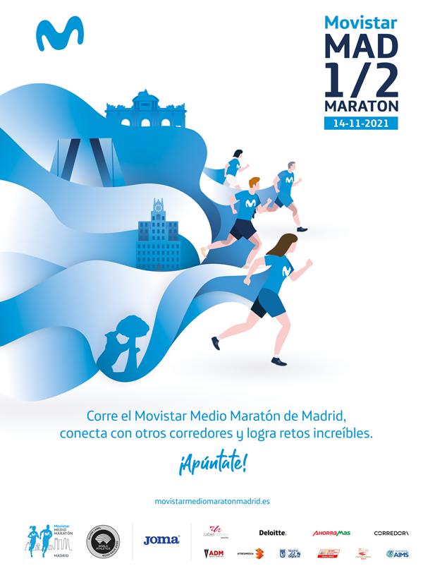 Movistar Medio Maratón de Madrid 2021