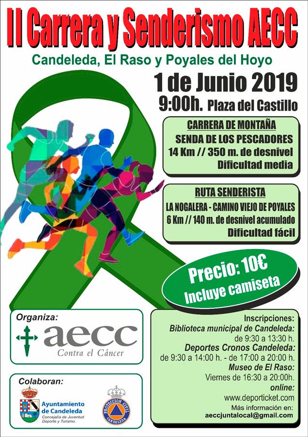 II Carrera y Marcha Senderista en favor de AECC Candeleda