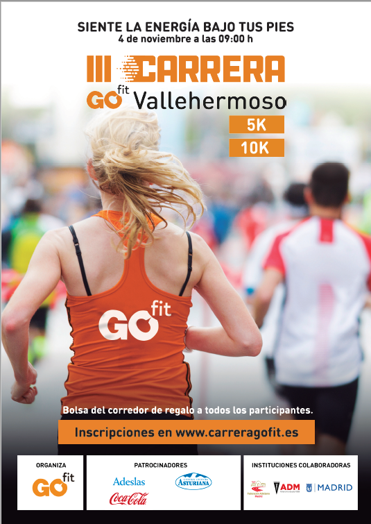5 Km. III Carrera Popular Go fit - Vallehermoso