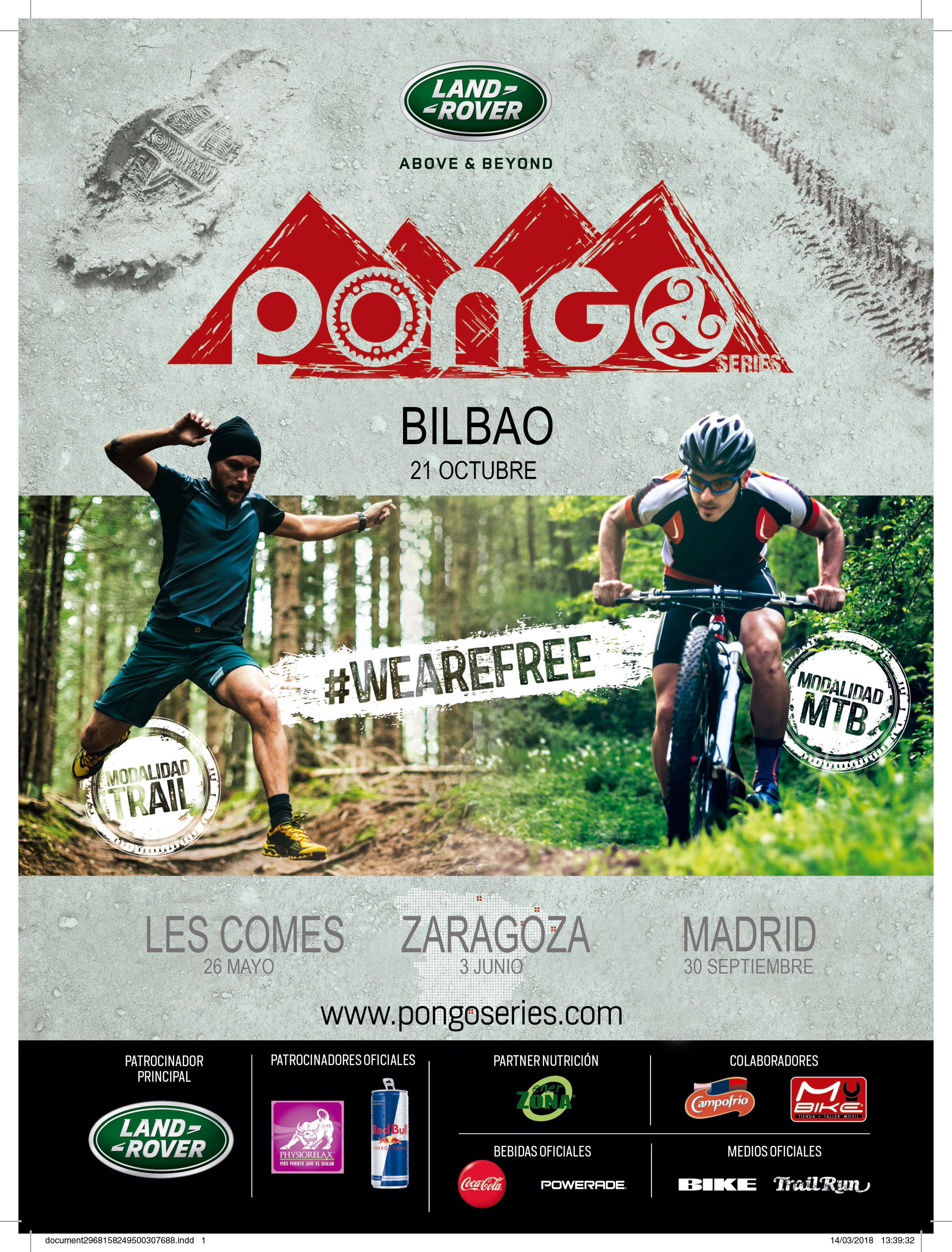 Circuito PONGO Bilbao MTB y Trail