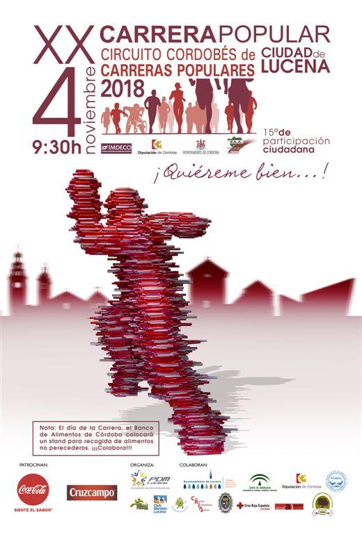 XX Carrera Popular Urbana y 15ª Carrera de Participación Ciudadana de Lucena