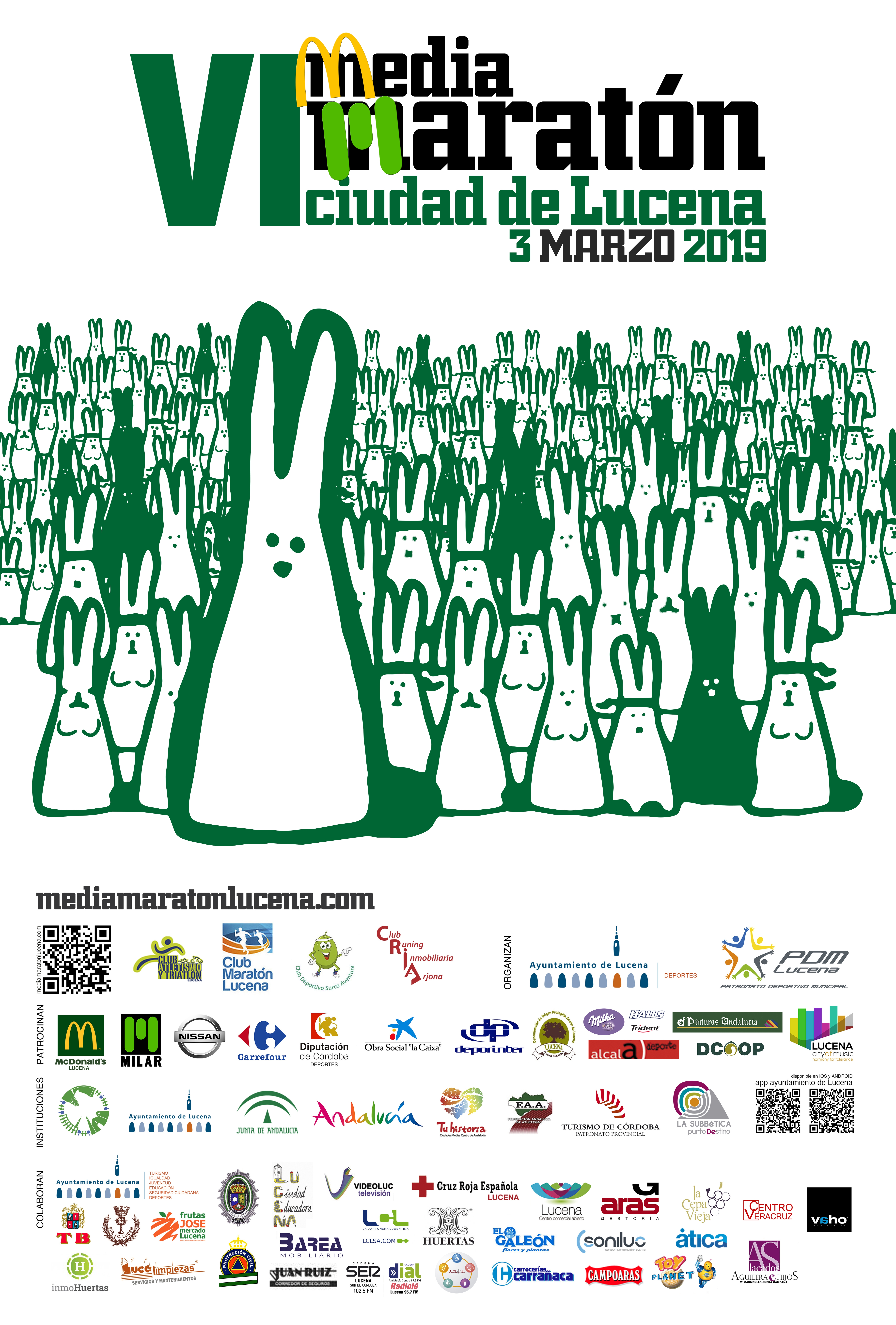 VI Media Maratón Ciudad de Lucena