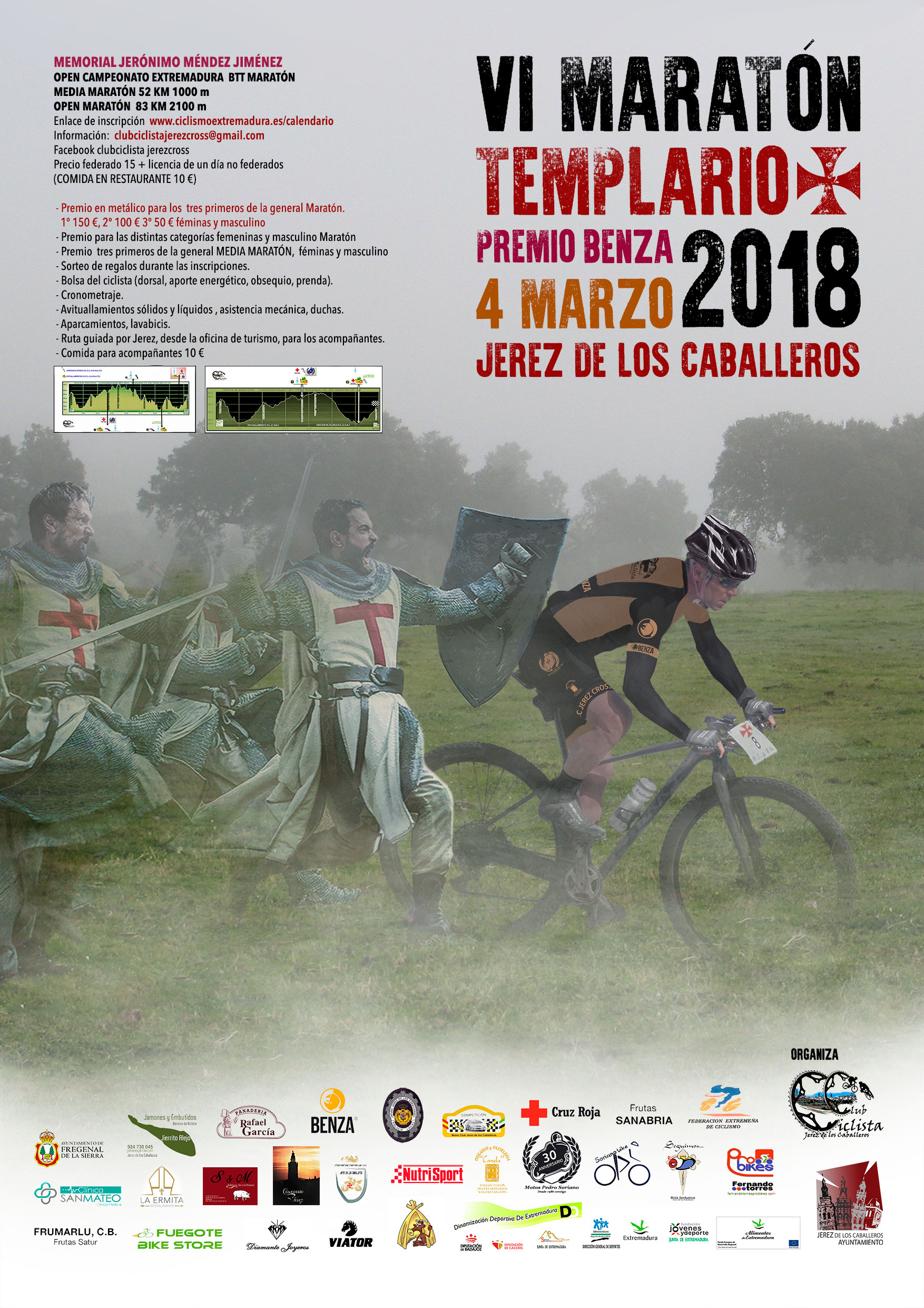 VI Maraton BTT Templarios Jerez de los Caball