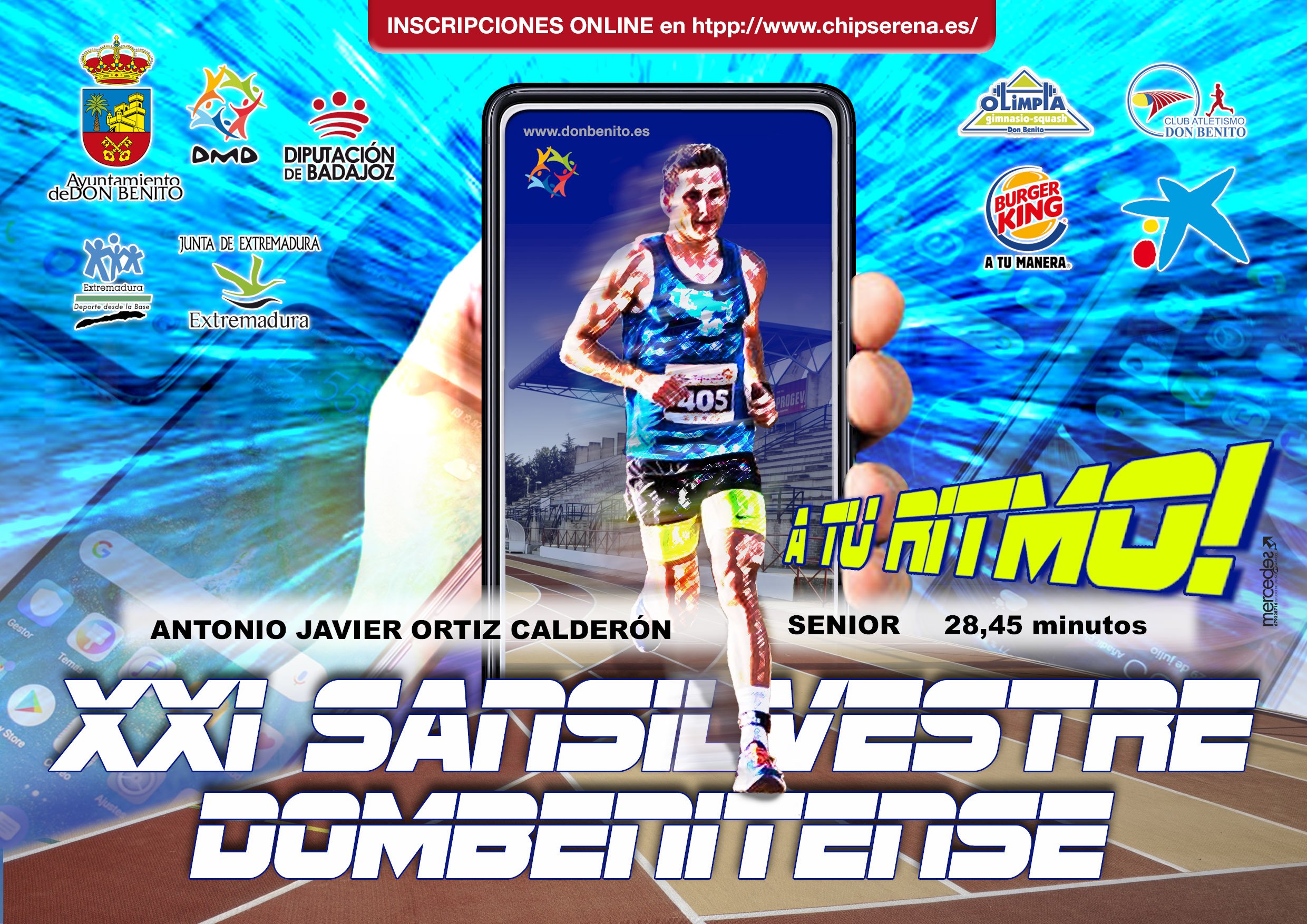 SAN SILVESTRE VIRTUAL DON BENITO 1K