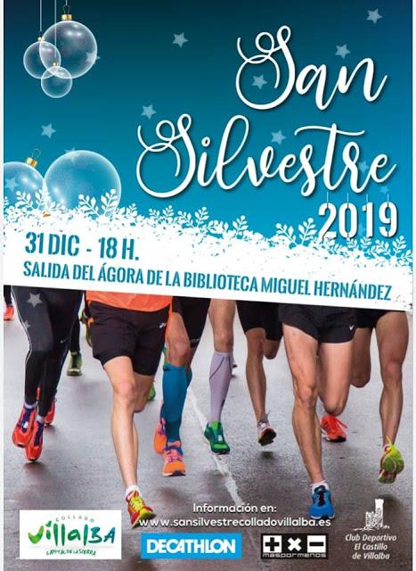 SAN SILVESTRE COLLADO VILLALBA 2019