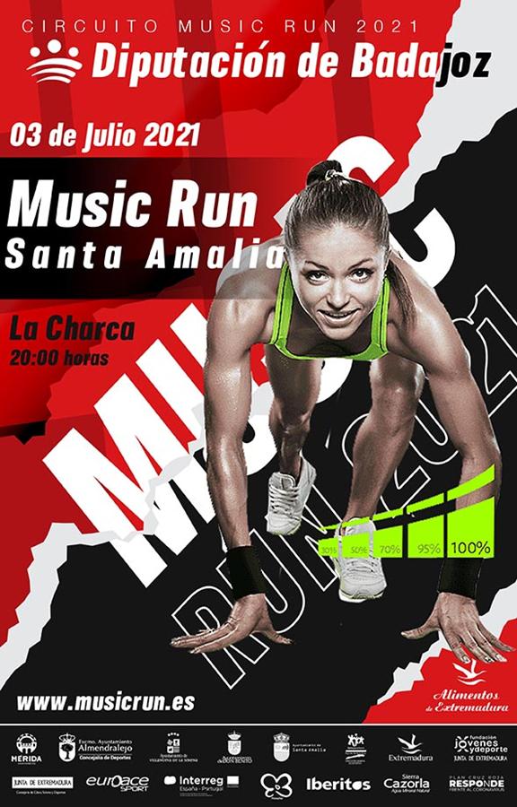 MUSIC RUN SANTA AMALIA 2021