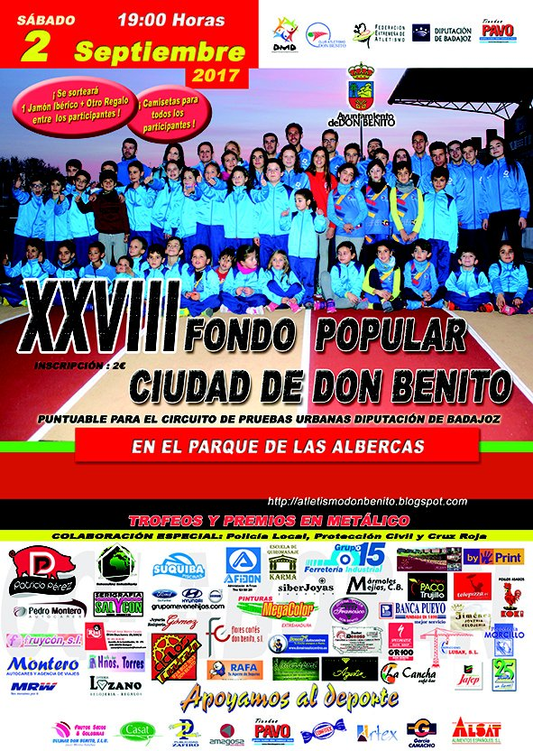 XXVIII Fondo Popular Don Benito 6K