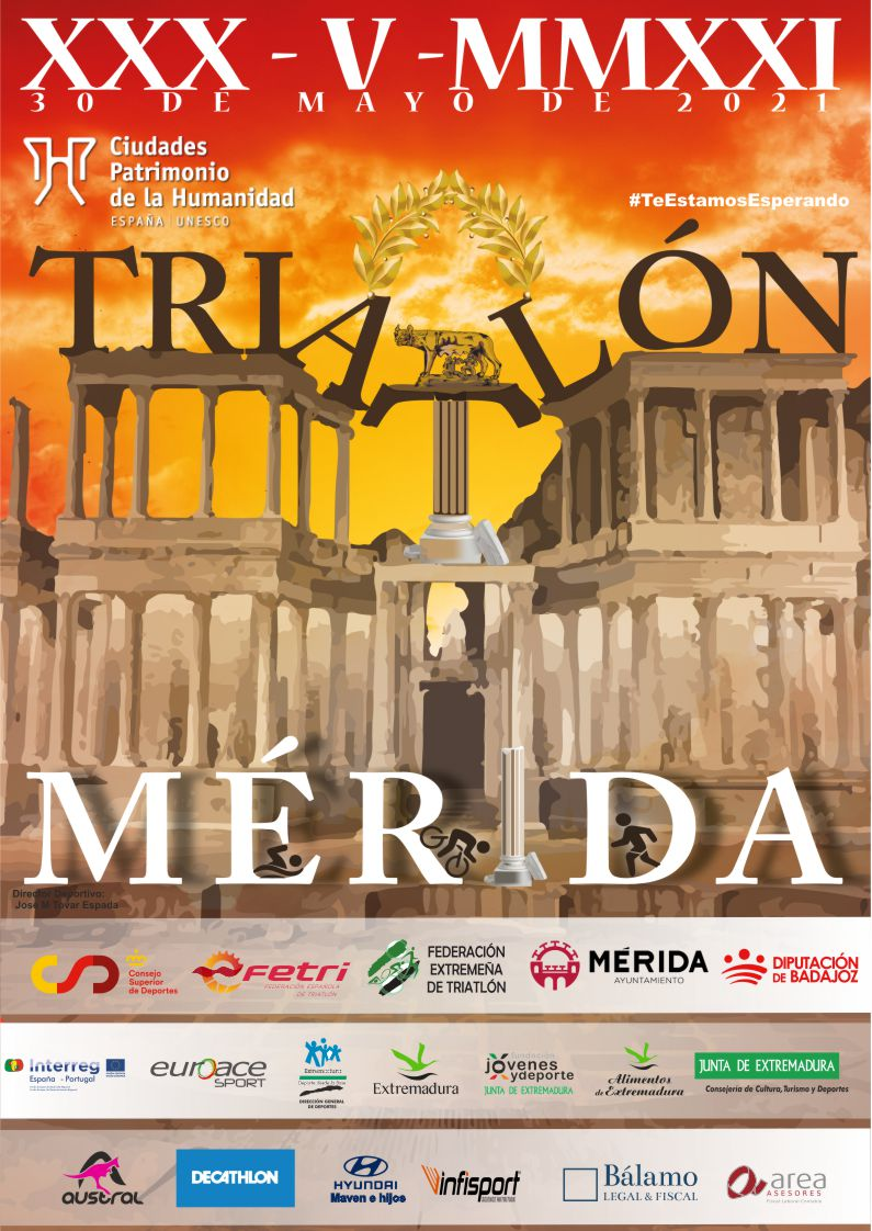 OPEN MASCULINO-XI TRIATLON DE MERIDA