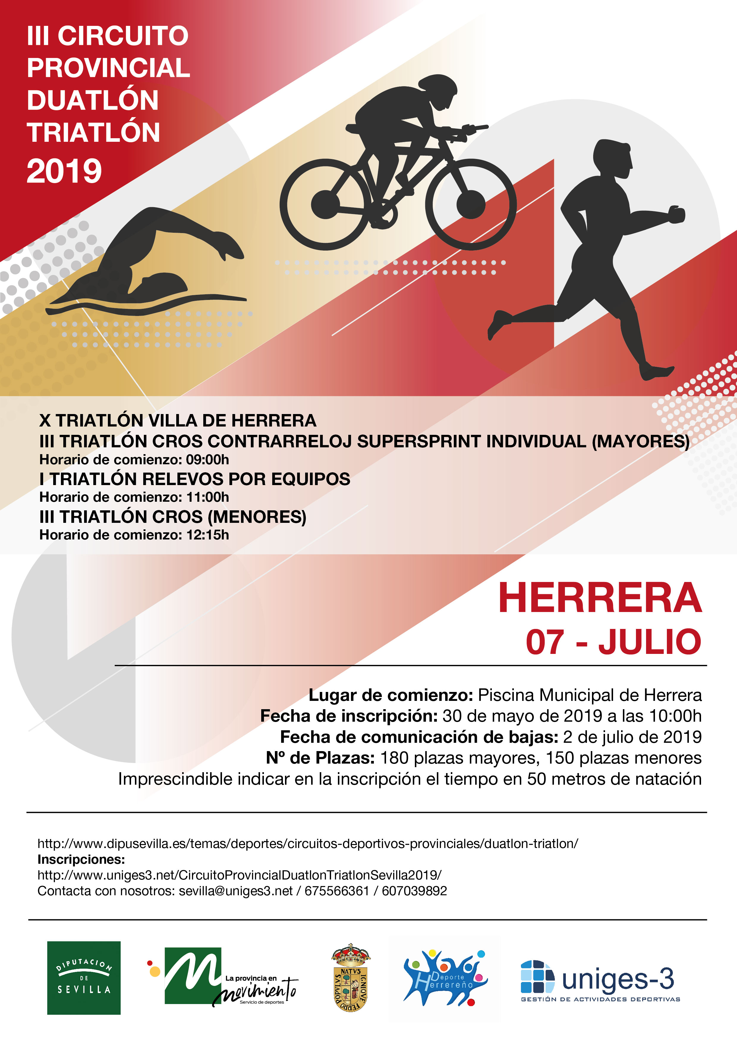 TRIATLON CONTRARELOJ SUPERSPRINT HERRERA FEMENINO