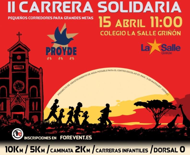 II CARRERA LA SALLE-PROYDE 5Km