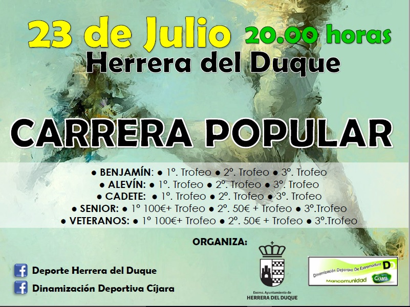 Carrera Popular Herrera del Duque