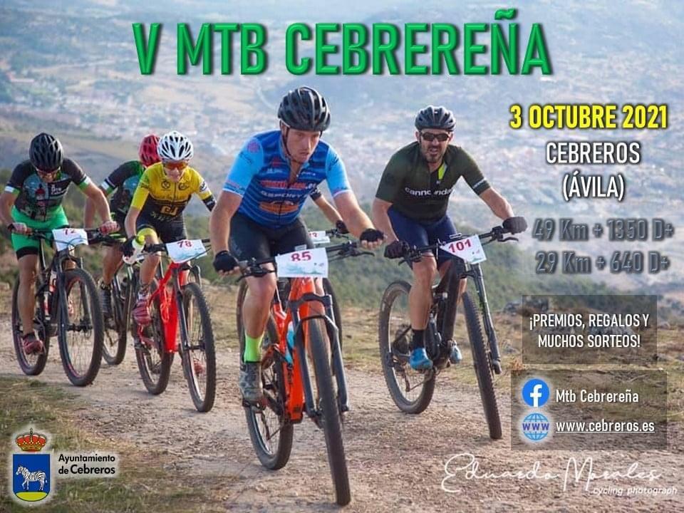 V MTB CEBREREÑA 29K