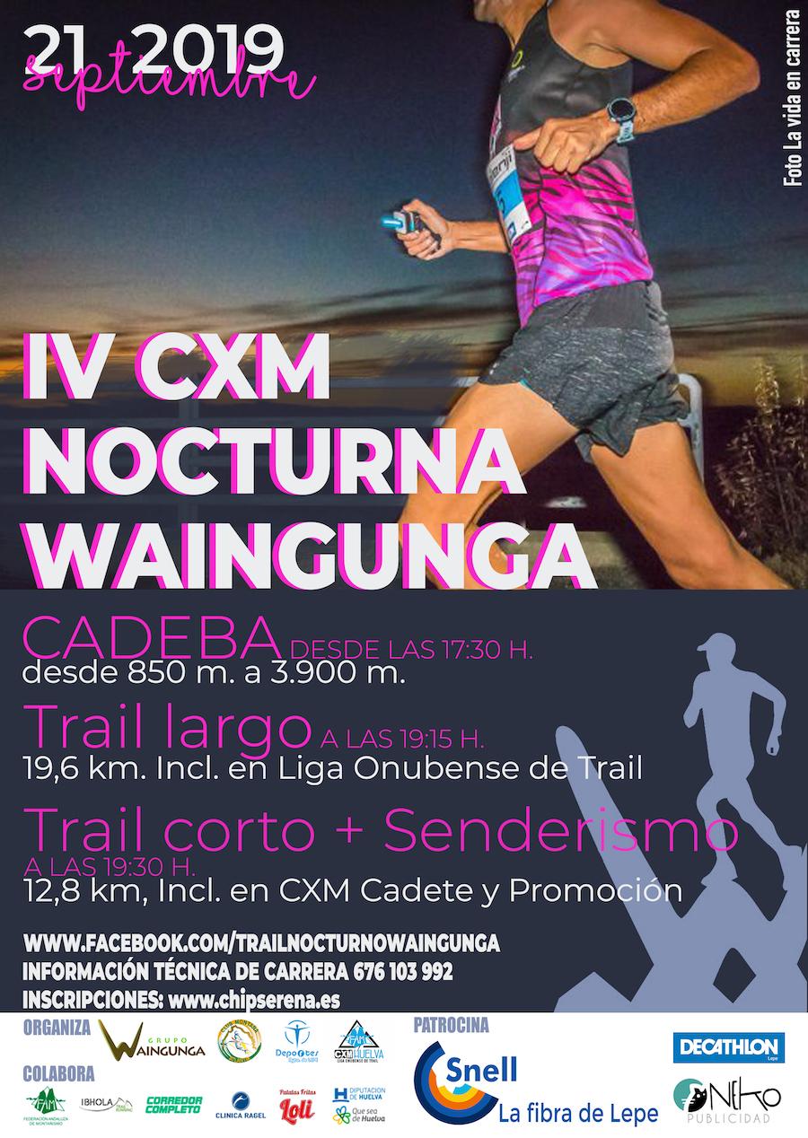 IV CXM NORTURNA WAINGUNGA 19K