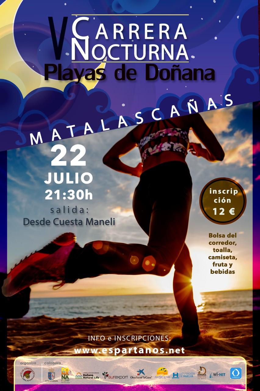 V Carrera Nocturna Playas de Doñana Matalascañas