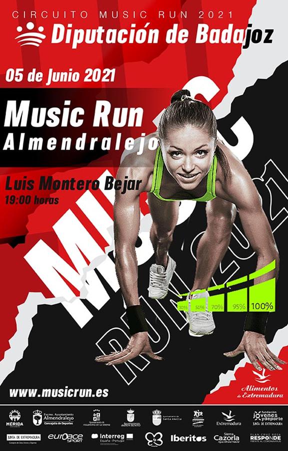 MUSIC RUN ALMENDRALEJO 2021