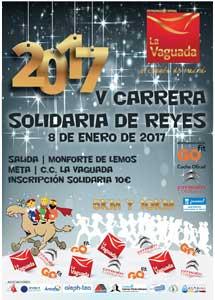 V CARRERA SOLIDARIA DE REYES 2016 5K